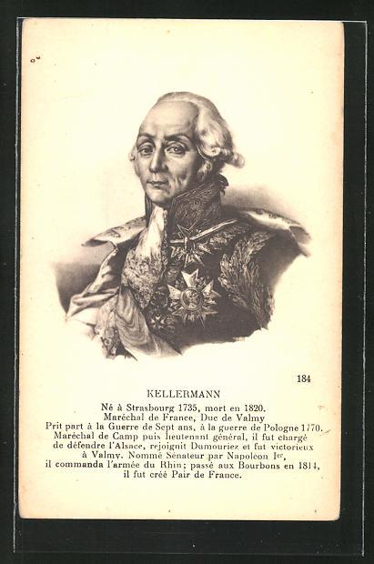 AK Kellermann, Maréchal de France, französ. Heerführer