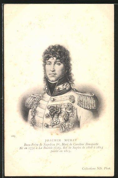 AK Jaochim Murat, französ. Offizier