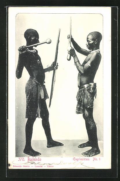 AK Bailundo, Esgrimistas, Afrikaner fechten
