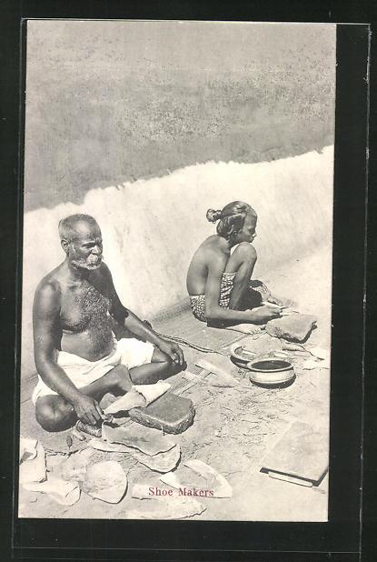 AK shoe makers, Schuhmacher in Indien