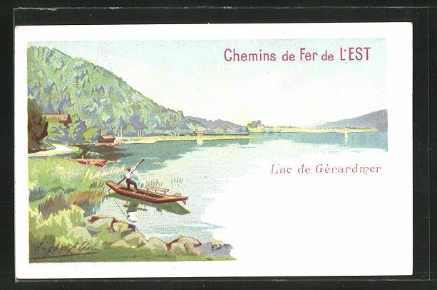 AK Lac de Gerardmer, Vue generale