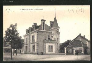 AK Vesdun, Le Chateau, Ansicht vom Schloss