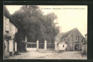 AK Bannegon, Grille d'entrée du Chateau et Eglise