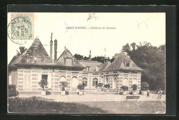 AK Grisy-Suisnes, Chateau de Suisnes