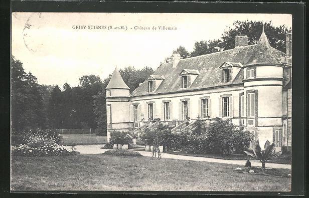 AK Grisy-Suisnes, Chateau de Villemain