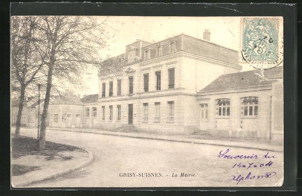 AK Grisy-Suisnes, La Mairie