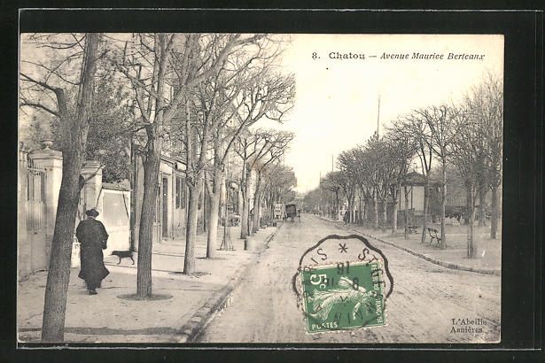 AK Chatou, Avenue Maurice Berteaux