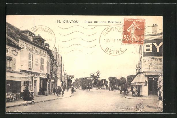 AK Chatou, Place Maurice-Berteaux
