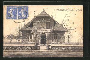 AK Toussus-le-Noble, La Mairie, Rathaus