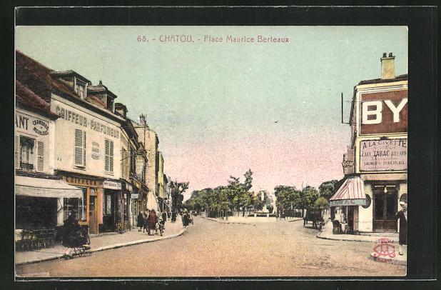 AK Chatou, Place Maurice Berteaux