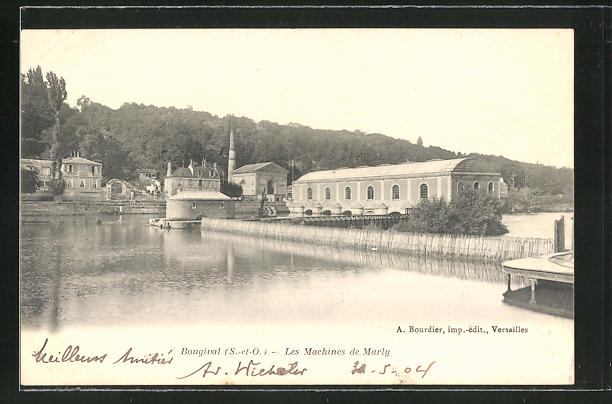 AK Bougival, Les Machines de Marly, Wasserwerk
