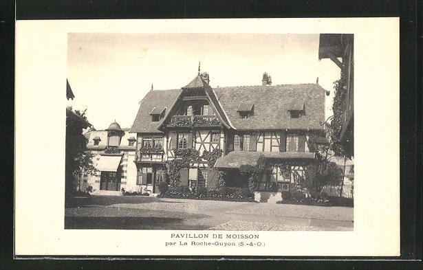 AK La Roche-Guyon-Moisson, Pavillon de Moisson
