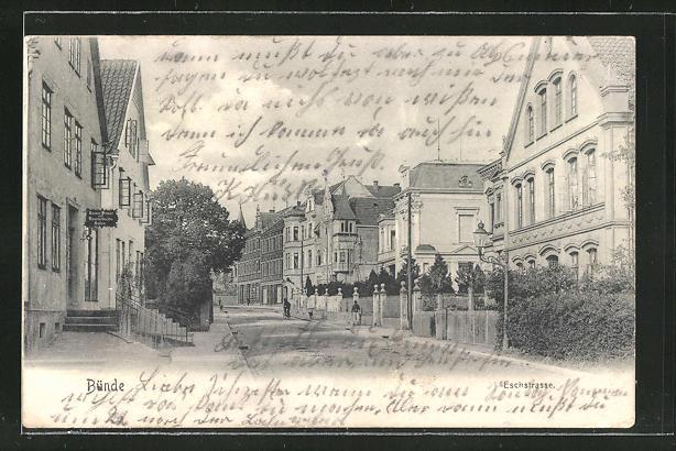 AK Bünde, Blick in die Eschstrasse