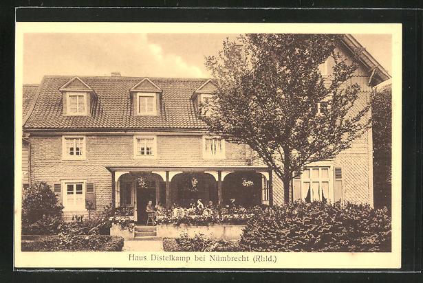 AK Nümbrecht / Rhld., Hotel Haus Distelkamp