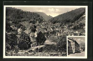 AK Elmstein / Pfälzerwald, Gasthaus zur Burg von Heinrich Roth