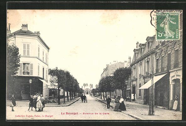 AK Le Bourget, Avenue de la Gare