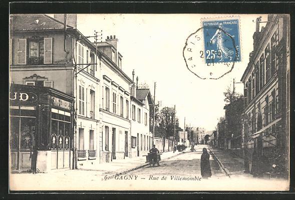 AK Gagny, Rue de Villemomble