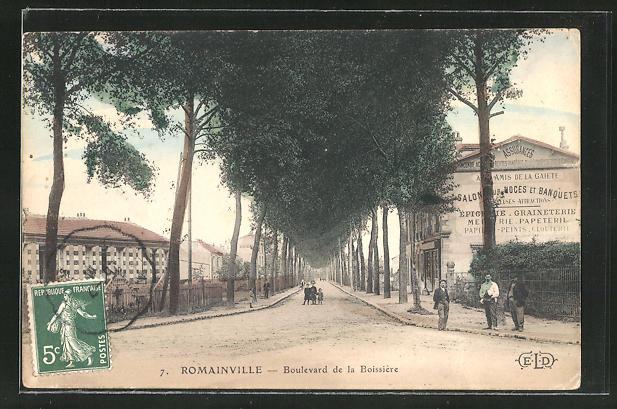 AK Romainville, Boulevard de la Boissiere