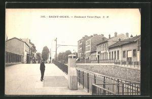 AK Saint-Ouen, Boulevard Victor-Hugo