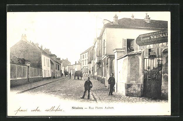 AK Stains, Rue Pierre Aubert, Strassenpartie