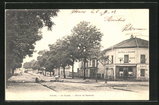 AK Stains, Le Globe, Route de Gonesse