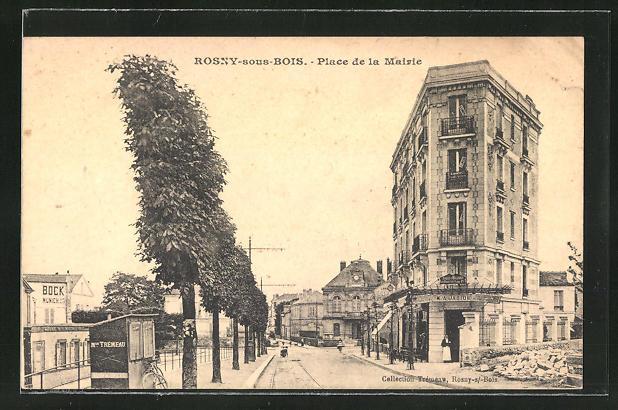 AK Rosny-sous-Bois, Place de la Mairie