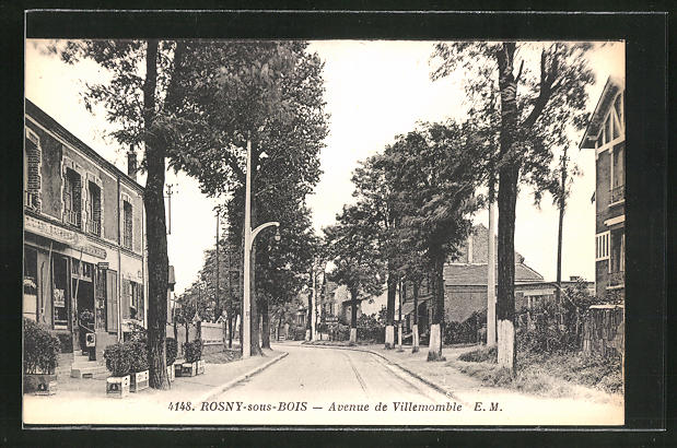 AK Rosny-sous-Bois, Avenue de Villemomble