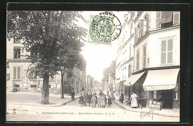 AK Pres-Saint-Gervais, Rue Emile-Augier