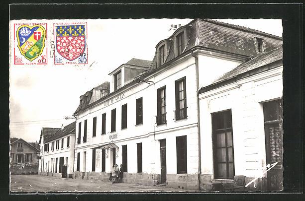 AK Sevran-Livry, La Mairie, Partie am Rathaus