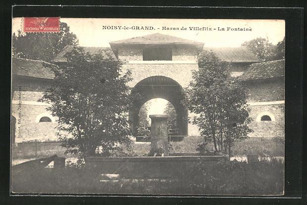 AK Noisy-le-Grand, Haras de Villeflix, La Fontaine