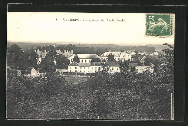 AK Vaujours, Vue generale de l'Ecole Fenelon