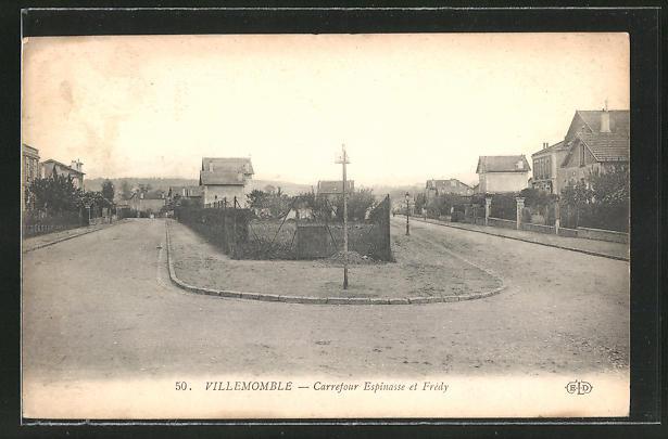 AK Villemomble, Carrefour Espinasse et Fredy
