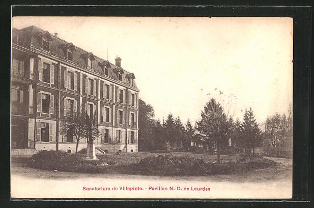 AK Villepinte, Sanatorium, Pavillon N.-D. de Lourdes