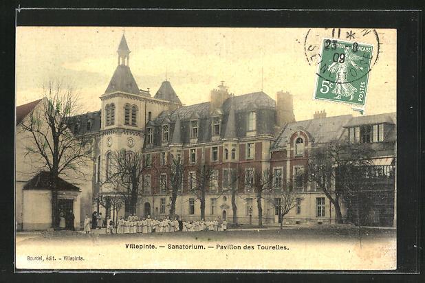 AK Villepinte, Sanatorium, Pavillon des Tourelles