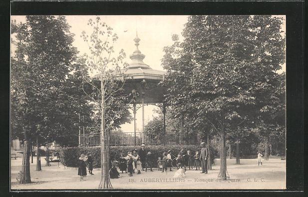 AK Aubervilliers, Kiosque du Square
