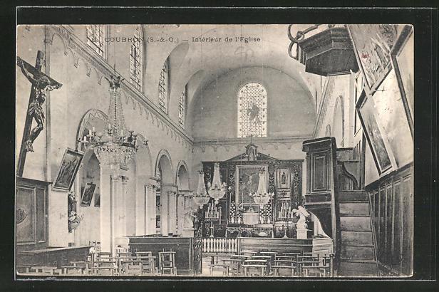 AK Coubron, Interieur de l'Eglise 0