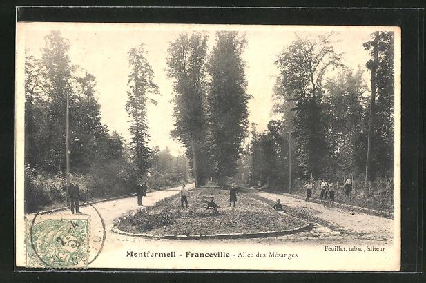 AK Montfermeil-Franceville, Allee des Mesanges