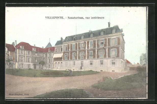 AK Villepinte, Sanatorium, vue interieure
