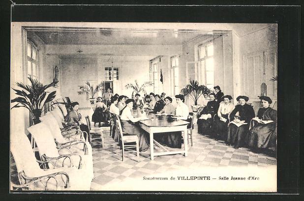 AK Villepinte, Sanatorium, Salle Jeanne d'Arc