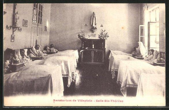 AK Villepinte, Sanatorium, Salle Saint-Therese 0