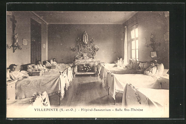 AK Villepinte, Hopital-Sanatorium, Salle Saint-Therese