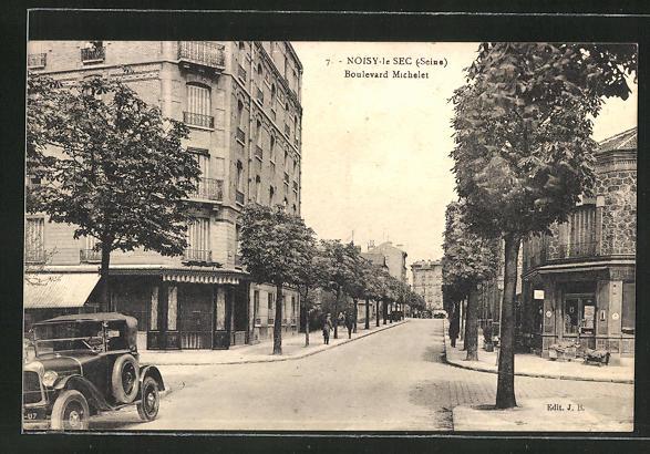AK Noisy-le-Sec, Boulevard Michelet 0