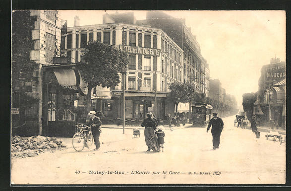 AK Noisy-le-Sec, L'Entree par la Gare 0