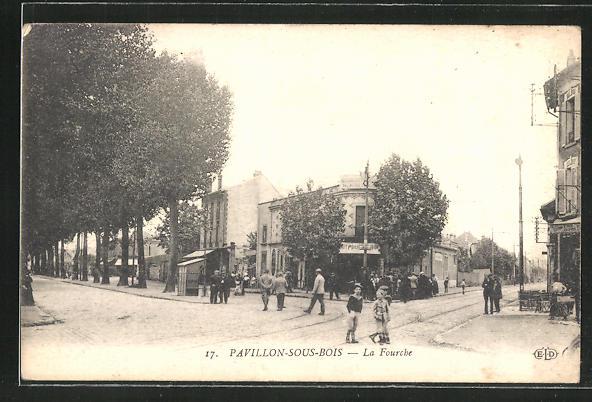 AK Pavillon-sous-Bois, La Fourche 0