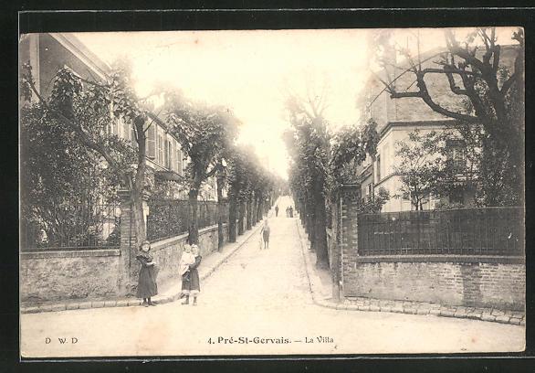 AK Le Pré-Saint-Gervais, La Villa