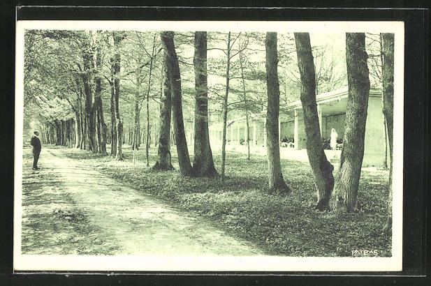 AK Gnanville, Sanatorium de l'Association Leopold Bellan, les Galeries se Cure 0
