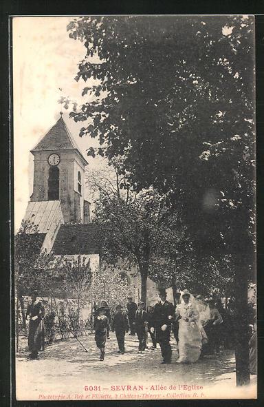 AK Sevran, Allee de l'Eglise 0