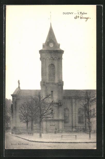 AK Dugny, L'Eglise, Sicht auf die Kirche 0