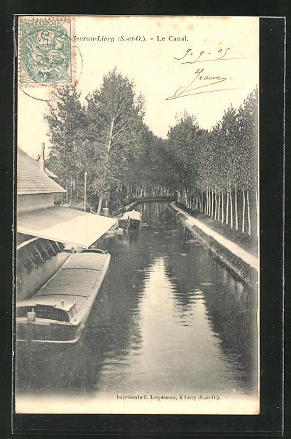 AK Sevran-Livry, Le Canal, Partie am Kanal 0