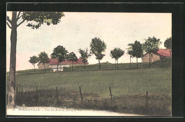 AK Romainville, Vue du Fort de Noisy-le-See